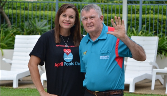 April Pools Day - Laurie Lawrence - Tammy Richie - 2