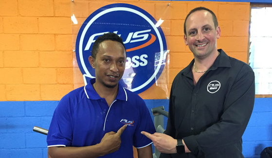 Dede Plus Fitness Manager Dili East Timor1