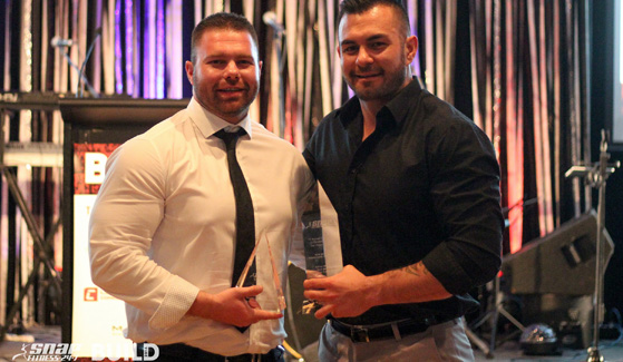 Adrian Mumford and Kurt Monkley took home New Zealands Franchisee of th
