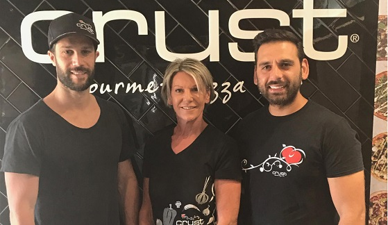 Franchisees of Crust Thirroul, Wollongong, and Shellharbour