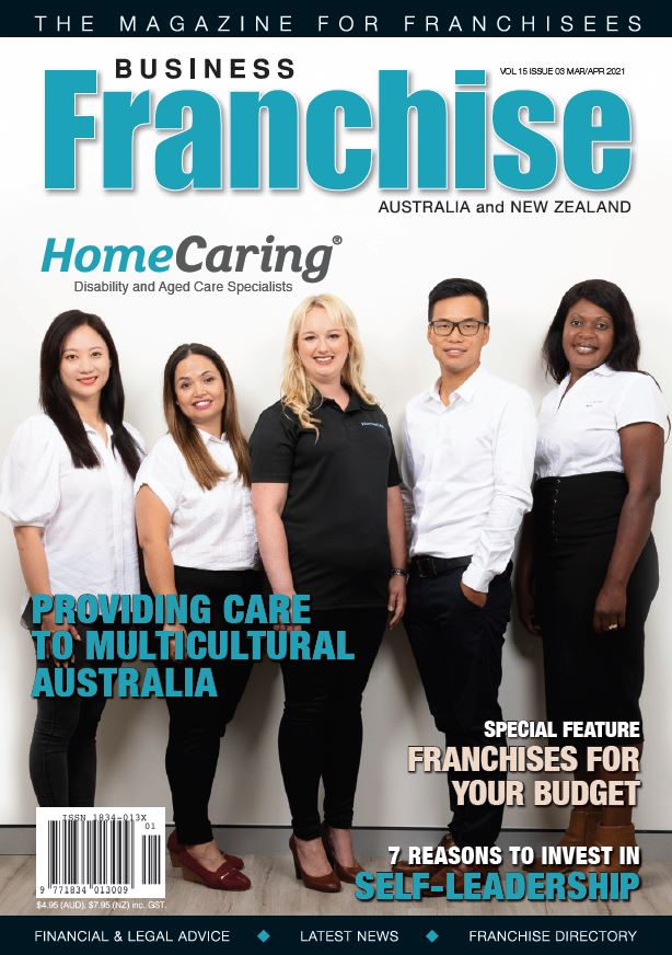 Home Caring cover Franchising USA