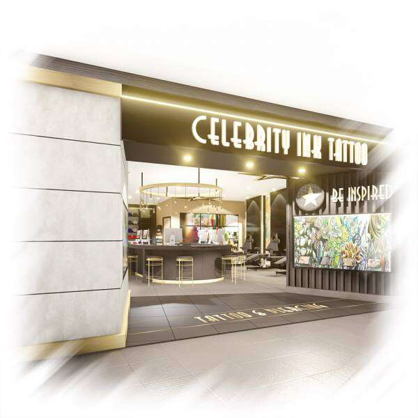 celebrity Tattoo store front